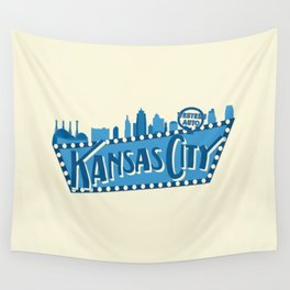 Downtown KC Wall Tapestry