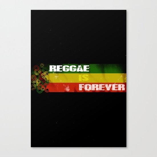Reggae Is Forever II Canvas Print