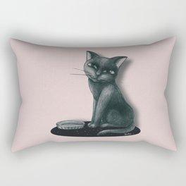 Hungry Rectangular Pillow