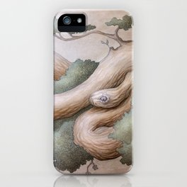 Tree Serpent iPhone Case