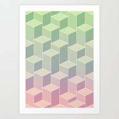 UpsideDown III Art Print