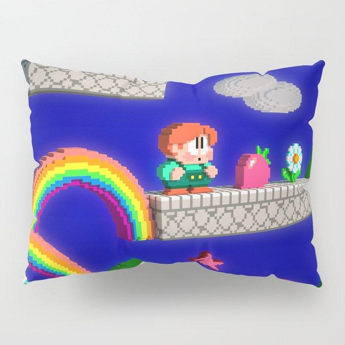 Inside Rainbow Islands Pillow Sham