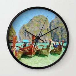Koh Phi Phi, Thailand Wall Clock
