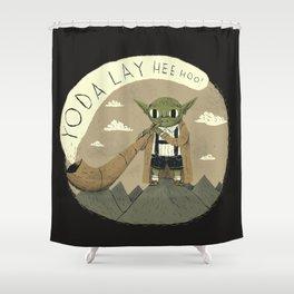 yodaling (grey colour option) Shower Curtain
