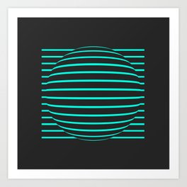Optical 0.1 Art Print