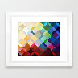 Circular Motion Framed Art Print
