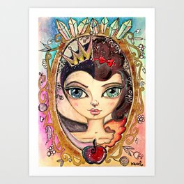Who is the fairest of them All? Art Print