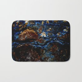 colorful stone Bath Mat