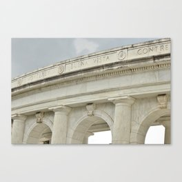 Arlington Cemetery Memorial Amphitheater Canvas Print
