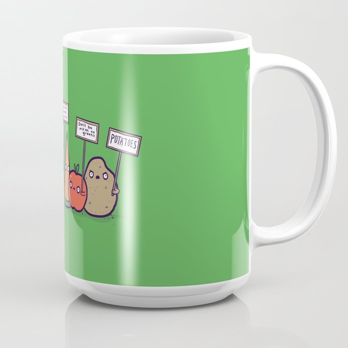 I hate vegans Coffee Mug