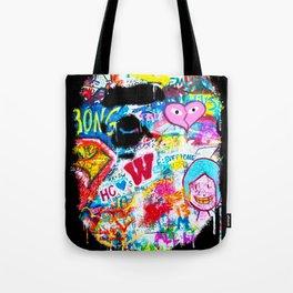 Graffiti Hypebeast Bape Illustration Tote Bag