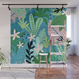 Into the jungle - twilight Wall Mural