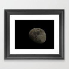moon 2015 Framed Art Print