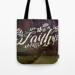 Faith Meadow Tote Bag