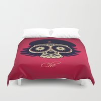 che Duvet Covers featuring Che by mangulica illustrations