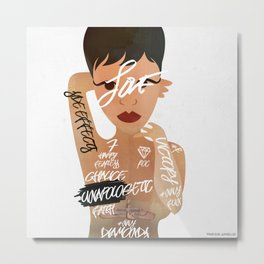 Unapologetic Metal Print