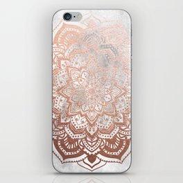 ROSE GOLD MANDALA iPhone Skin