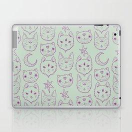 Mitty Mystics in Green Laptop & iPad Skin