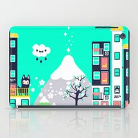 katamari iPad Cases featuring Small Town by jusum