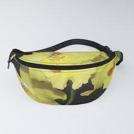 Glorious Golden Orchid - Odontonia Yellow Parade Alpine Fanny Pack