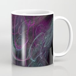 Christmas blizzard. Abstract Coffee Mug