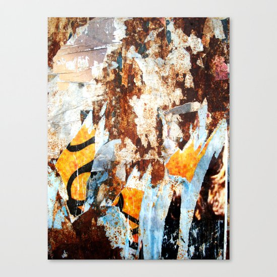Vestiges Canvas Print