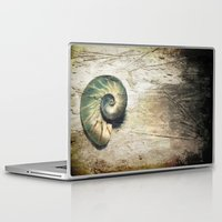 shell Laptop & iPad Skins featuring Shell by KunstFabrik_StaticMovement Manu Jobst