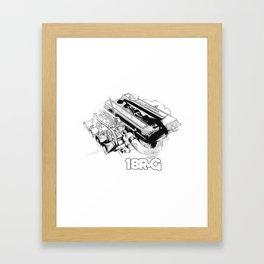18RG Framed Art Print