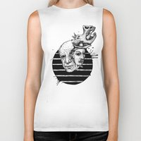 picasso Biker Tanks featuring Picasso by Benson Koo