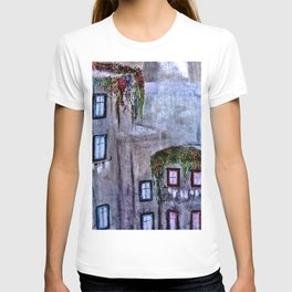 Houses in Milan in the evening Italy T-shirt