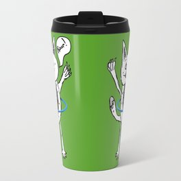 Monster Hula Hoop Travel Mug
