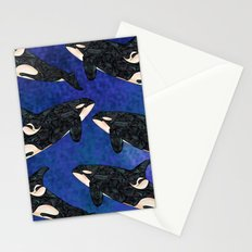 Killer Whale Stationery Cards