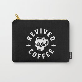Revived By Coffee Carry-All Pouch