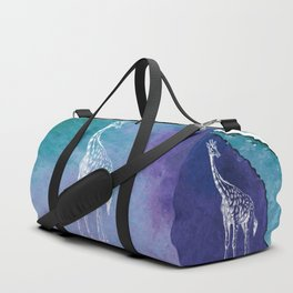 Color Spot Safari Giraffe Duffle Bag