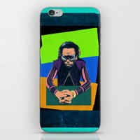 miles davis iPhone & iPod Skins featuring Davis by Nope