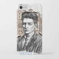 kafka iPhone & iPod Cases featuring Kafka by Nina Palumbo Illustration