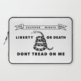 Historic Culpeper Minutemen flag Laptop Sleeve