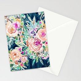 SO RICH Dark Boho Floral Stationery Cards
