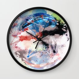 The Paraglider Wall Clock