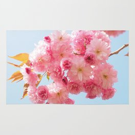 Japanese cherry blossom Rug