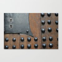 door Canvas Prints featuring Door by constarlation