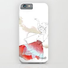 Dancing in the poppies iPhone 6 Slim Case