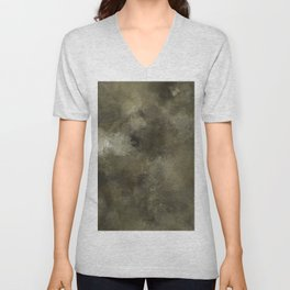 Abstract camouflage look Unisex V-Neck