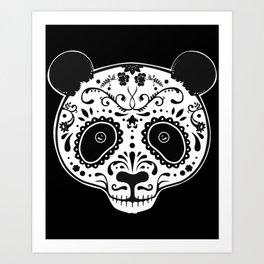 Dark Panda Art Print