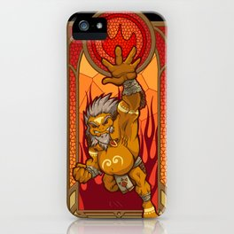 Sage of Fire iPhone Case