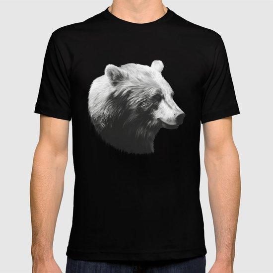Bear // Calm (Black + White) T-shirt
