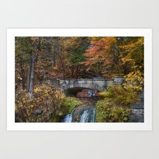 the Stone Bridge Art Print