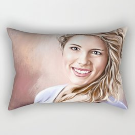 Felicity Smoak Rectangular Pillow