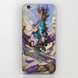Zodiac Dragons Calendar Virgo iPhone Skin
