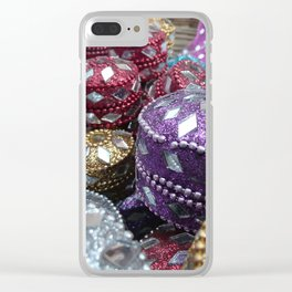 Shopping - Streets of India Clear iPhone Case